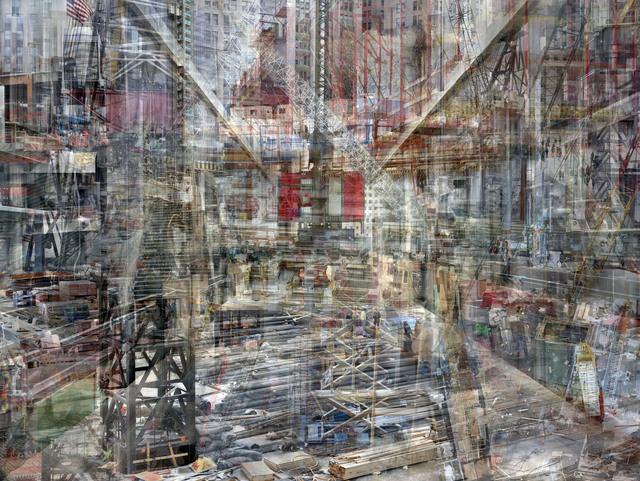 , 'W.T.C:Concrete Abstract #1,' 2011-2013, Julie M Toronto