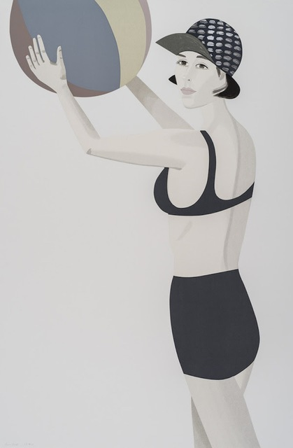 Alex Katz, 'Vivien, from Chance', 2016, Gregg Shienbaum Fine Art