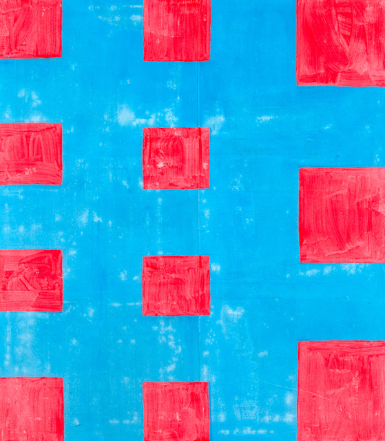 Chris Martin, 'Eleven (Red and Blue),' 2014, Anton Kern Gallery
