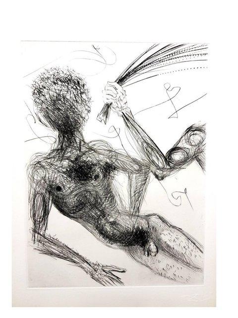"Salvador Dalí, 'Original Etching ""Venus in Furs V"" by Salvador Dali', 1968, Galerie Philia"
