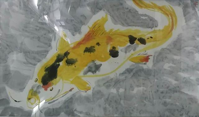 , 'Golden Fish,' 2015, Galerie Nagel Draxler