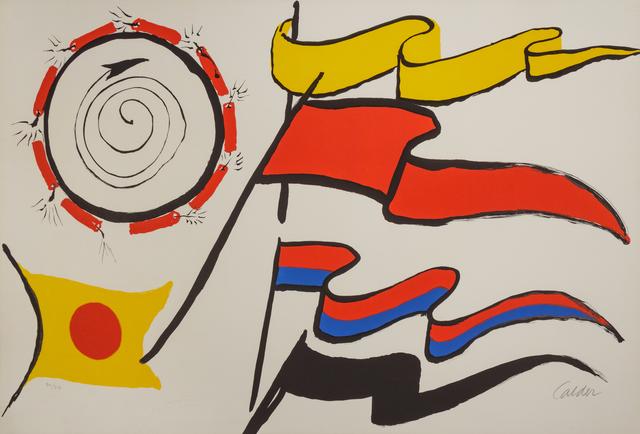 Alexander Calder, 'Oriflammes', Hindman