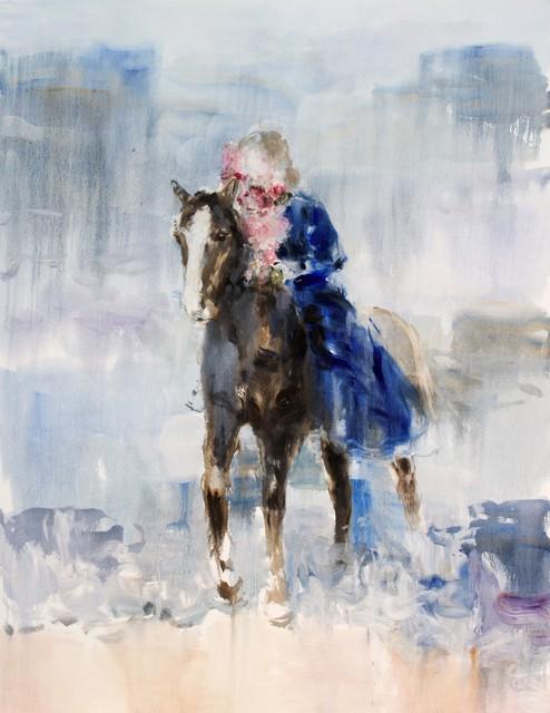 , 'Lake (bareback),' 2019, Galerie de Bellefeuille