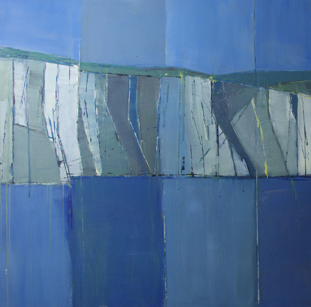, 'Cliffs at Seaford – from the sea ,' 2016, Albemarle Gallery | Pontone Gallery