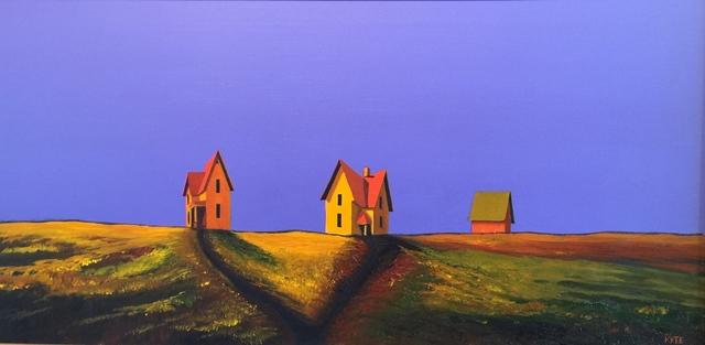 , 'Suttin Houses and Barn,' , Cosmopolitan Fine Arts