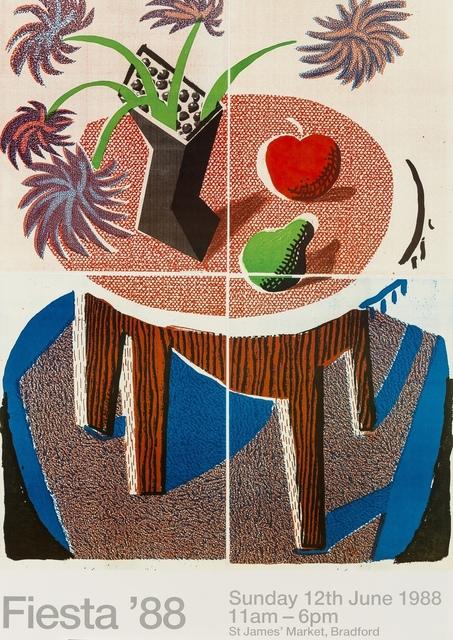 David Hockney, 'Fiesta (Baggott 178)', 1988, Forum Auctions