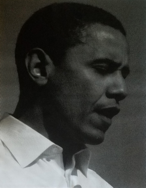 , 'Obama- Black and White With Diamond Dust, 2008,' , Long-Sharp Gallery