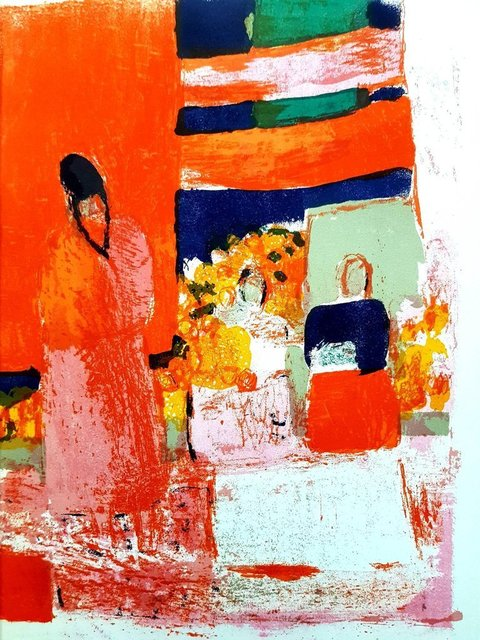 "Bernard Cathelin, 'Original Lithograph ""Mexico"" by Bernard Cathelin', 1964, Galerie Philia"