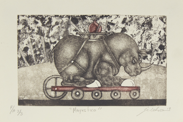 Isidro Fabián, 'Mayestico', Bernardini Art Gallery & Auction House