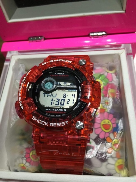 Takashi Murakami, 'TAKESHI MURAKAMI  G- SHOCK FROGMAN GWF-1000TM-4JR, BOXED & TAGGED', 2010, Jewelry, Plastic outer with metal caseback, Arts Limited