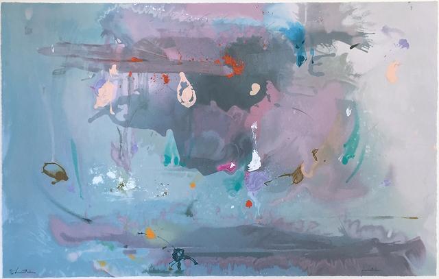 Helen Frankenthaler, 'Grey Fire Works', 2000, Nikola Rukaj Gallery