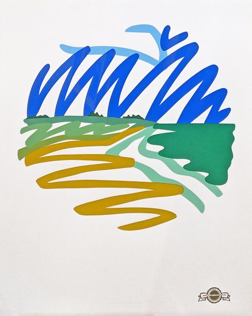 Tom Wesselmann, 'SEASCAPE (ROUND)', 1993, Gallery Art