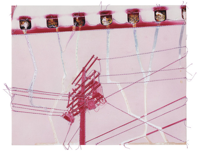 , 'Untitled (Pink Power Lines),' 2016, GALLERY 1/1