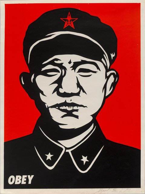 Shepard Fairey, 'Chinese Soldier White', 1997, Heritage Auctions