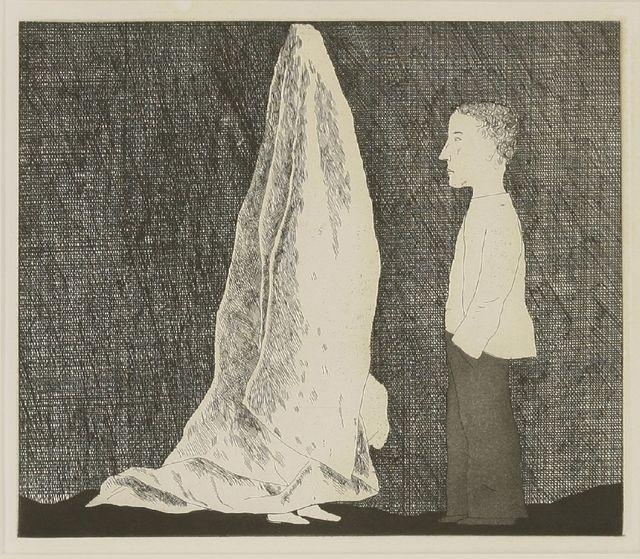 David Hockney, 'The Sexton Disguised as a Ghost (Tokyo 86)', 1969, Sworders