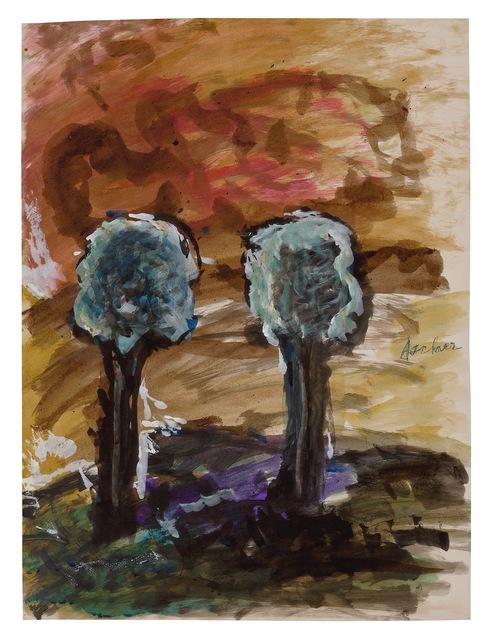 , 'Two Trees,' 1958 (?), New York Studio School