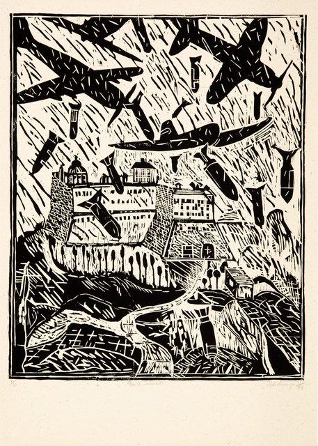 Italo Scanga, 'Monte Cassino (Black and White)', 1984, Heritage Auctions