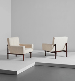 Pair of armchairs, model no. 869