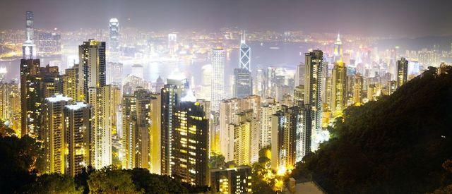 David Drebin, 'Hong Kong Lights', 2008, Galerie de Bellefeuille