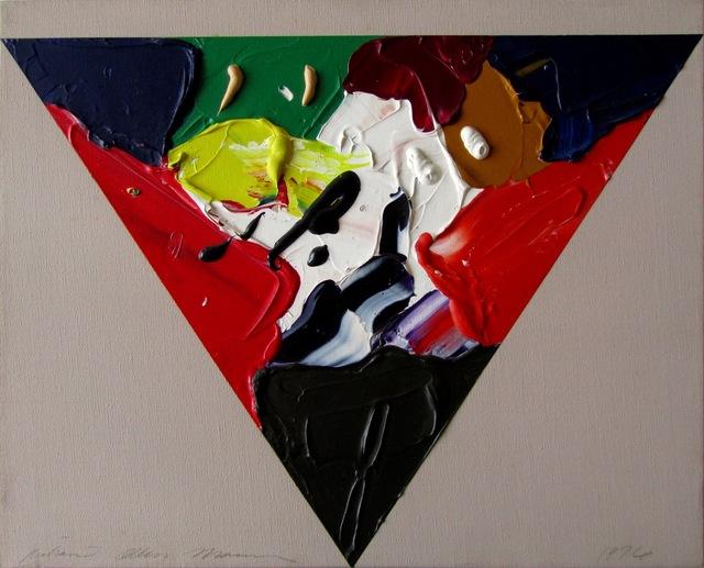 Richard Allen Morris, 'Painters Shield II', 1976, Painting, Acrylic on canvas, Riva di Morcote Fine Arts