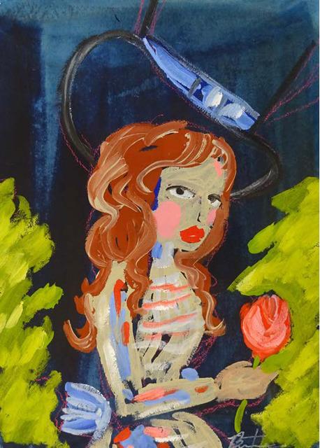 , 'Marie's Rose II,' 2016, Maddox Gallery