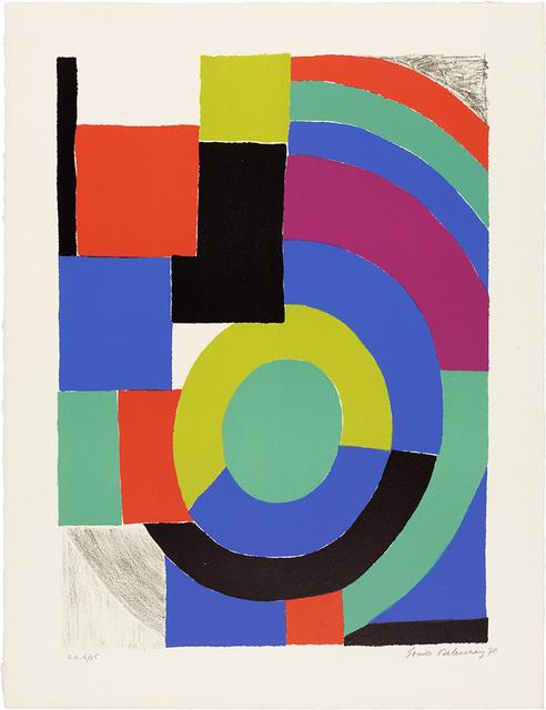 Sonia Delaunay, 'La Verte', 1970, Doyle