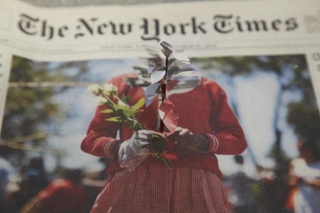 , 'New York Times, 22 oct 2013,' 2013, Piero Atchugarry Gallery
