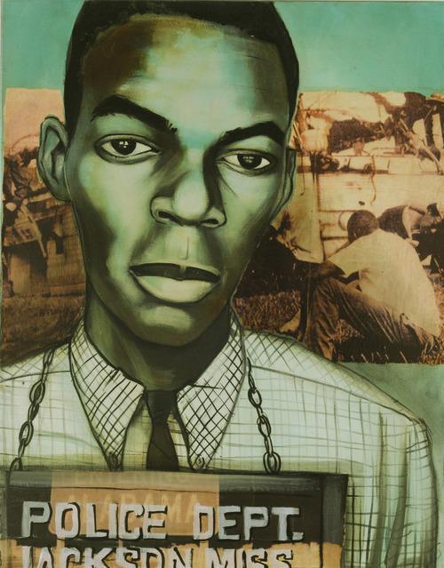 Charlotta Janssen, 'Hank Thomas (portrait) 19 yrs, from Nashville TN Arrested 5/24/1961 Jackson MS', 2011, Hudson Milliner Art Salon