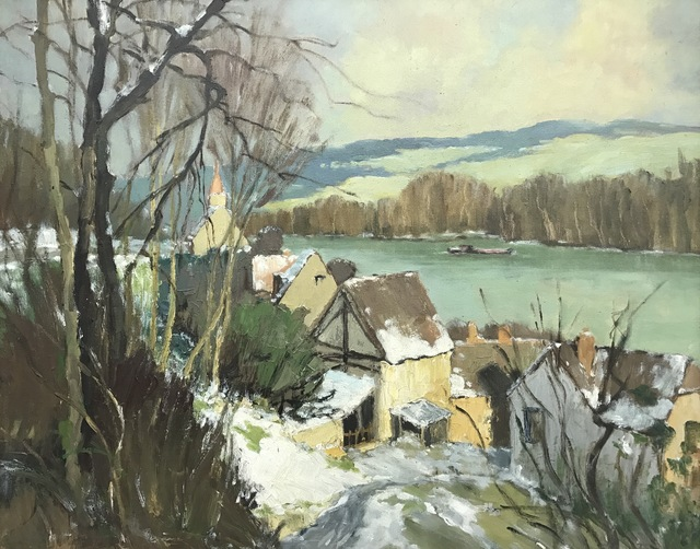 , 'Port-Villez – Neige,' , Ascot Studios