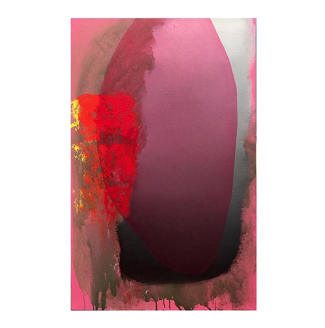 , 'Pink Eclipse,' 2016, Seraphin Gallery