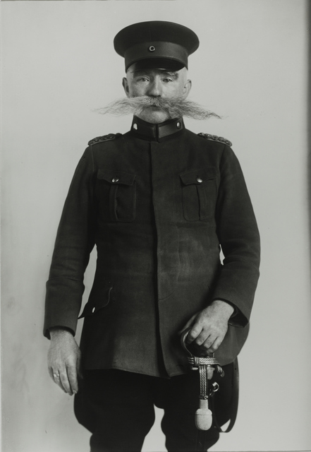 August Sander, 'Police Officer, 1925', Galerie Julian Sander