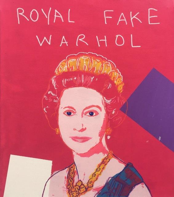 , 'ROYAL FAKE WARHOL,' 2017, Marcel Katz Art