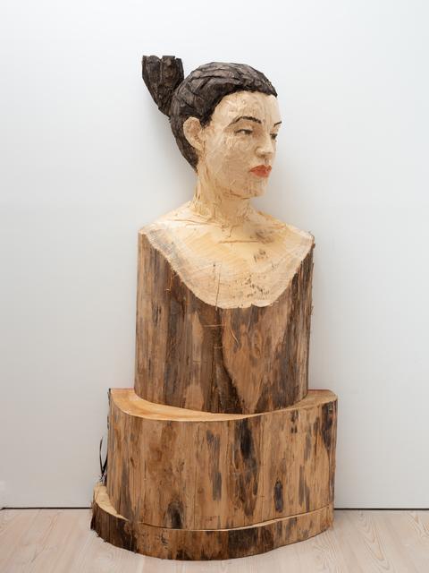 Stephan Balkenhol, 'Woman Hermes', 2019, Galerie Forsblom