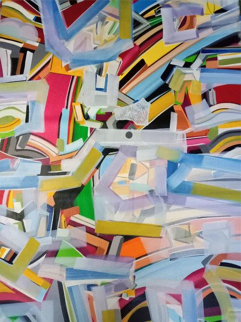 "Amit Kalla, 'Abstract Painting, Mix Medium on canvas by Indian Artist ""In Stock""', 2019, Gallery Kolkata"