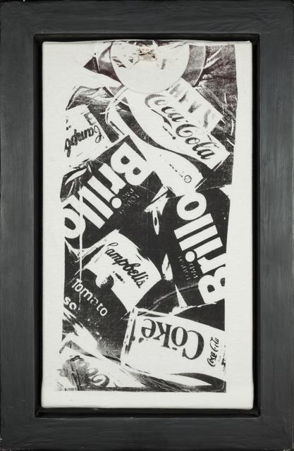 Andy Warhol, 'T-shirt Coke/Brillo - Black', 1980, Rudolf Budja Gallery