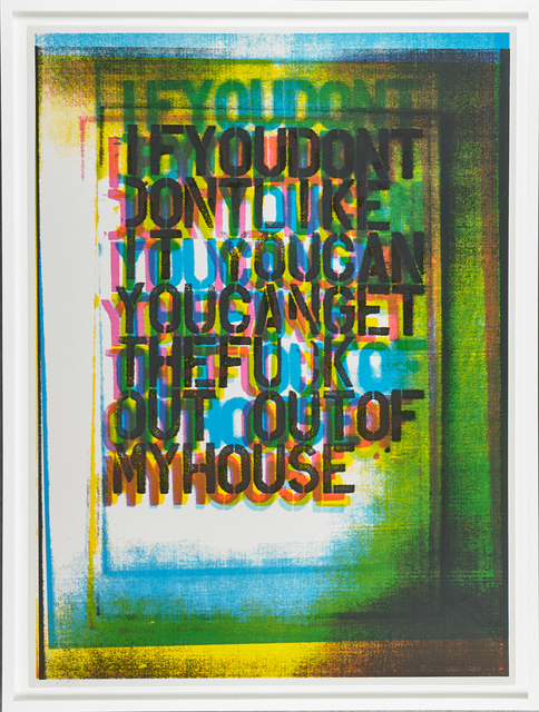 Christopher Wool, 'My House III', 2000, Rago