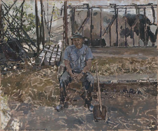 Elie Shamir, 'Dad is Resting', 2012, Zemack Contemporary Art