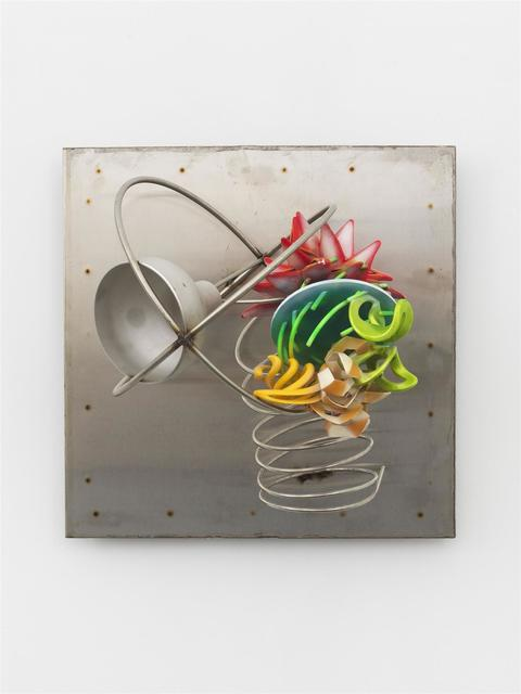 Frank Stella, 'Bell Piece on Stainless Background', 2016, Marianne Boesky Gallery