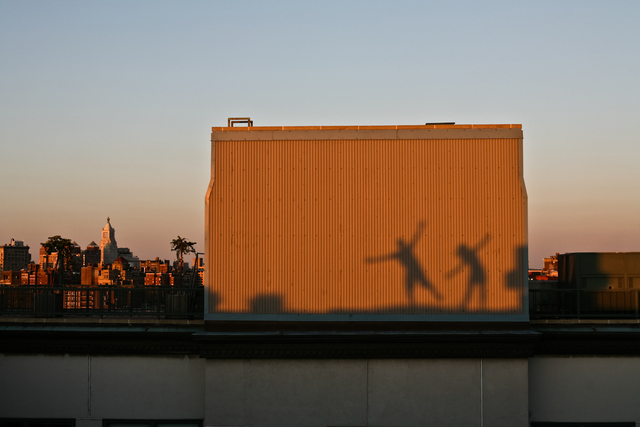 , 'on the roof,' 2012, The Print Atelier