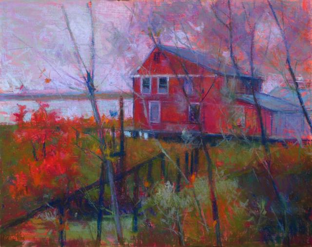 Doug Dawson, 'Marsh House', 2019, Ventana Fine Art
