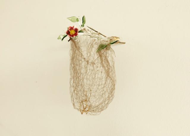, 'nido trampa (flor roja),' 2015, Galeria Eduardo Fernandes