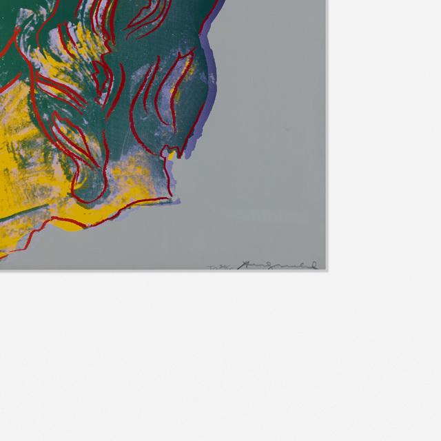 Andy Warhol, 'Alexander The Great', 1982, Print, Screenprint on paper, Rago/Wright