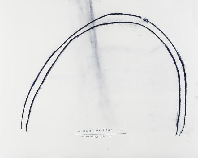 Christine Sun Kim, 'A Clean Clear Future', 2015, White Space Beijing