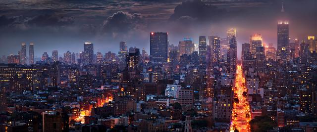 David Drebin, 'Blazing City', 2013, Photography, C-Print, CAMERA WORK