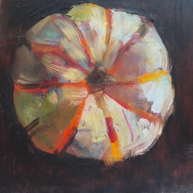 Carrie Williams, 'Pumpkin', 2021, Painting, Oil on panel, McVarish Gallery