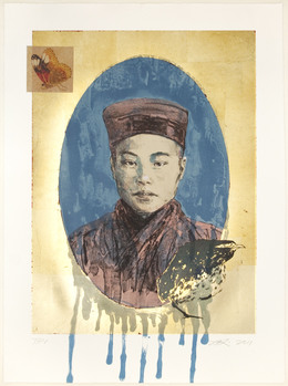 , 'Butterfly Dreams: Blue Nun,' 2011, Tamarind Institute