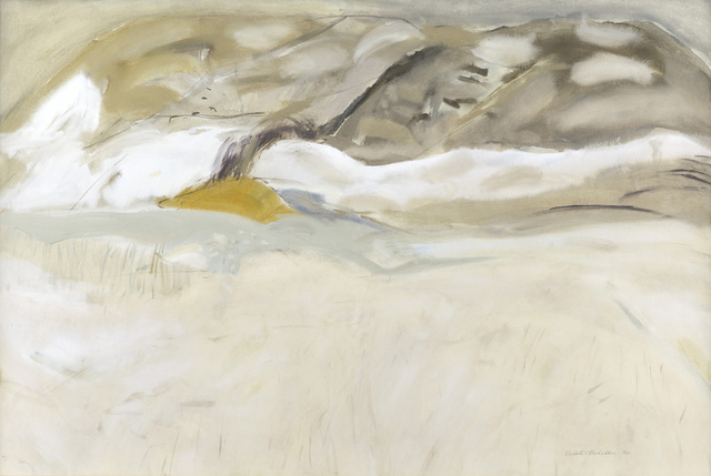 , 'Early Snow, Gala Water,' 1965, The Scottish Gallery