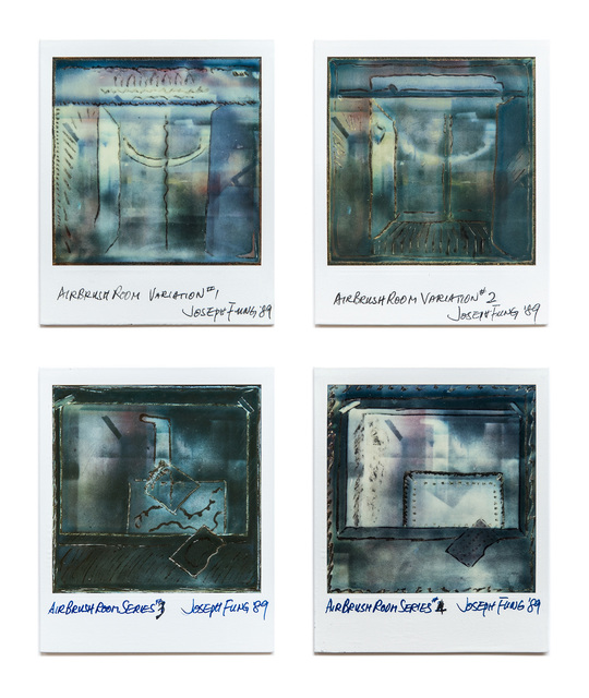 , 'Airbrush Room series 1-4,' 1989, Blindspot Gallery