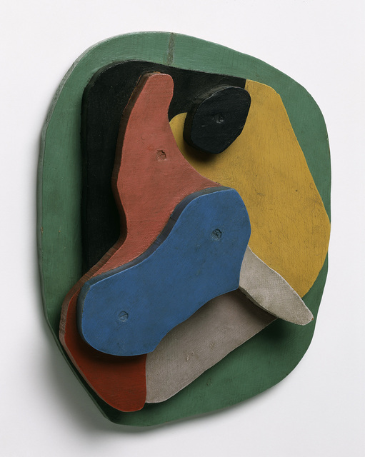 Hans Arp, 'Concrete Relief [Konkretes Relief]', 1916-1923, ARS/Art Resource