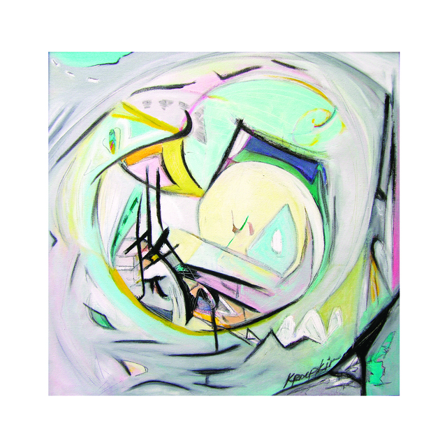 , 'Spiritual Ground 1,' 2018, Walter Wickiser Gallery